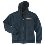 CS620 - B322E001 - EMB - Full Zip Hooded Sweatshirt with Thermal Lining