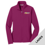L317 - B322E001 - EMB - Ladies Soft Shell Jacket